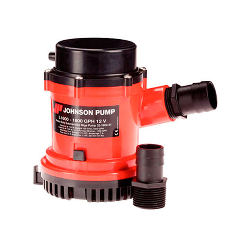 BOMBA DE PORAO 12V 1600GPH HEAVY DUTY JOHNSON PUMP