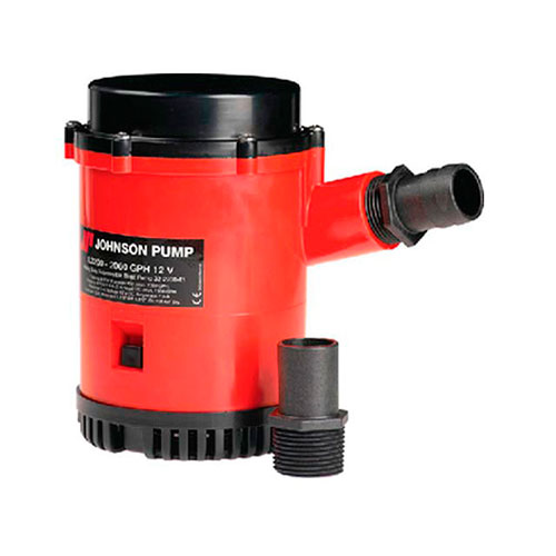 BOMBA DE PORAO 12V 2200GPH HEAVY DUTY JOHNSON PUMP