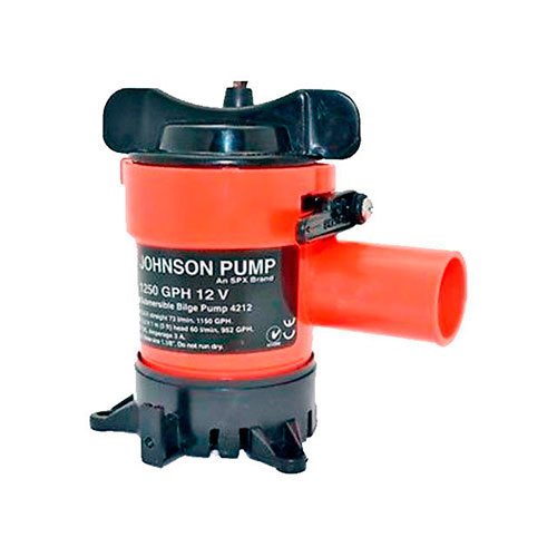 BOMBA DE PORAO 12V 1250GPH JOHNSON PUMP