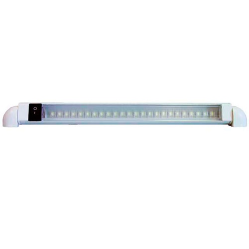 LUMINARIA DE SOBREPOR SEASENSE 36 LED BRANCO C/ INTERRUPTOR 12V