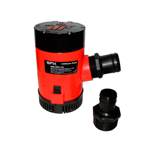 BOMBA DE PORAO 12V 4000GPH HEAVY DUTY JOHNSON PUMP